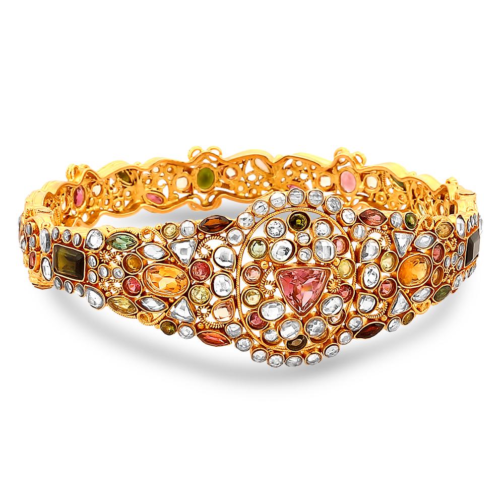 ariana-gold-bangle