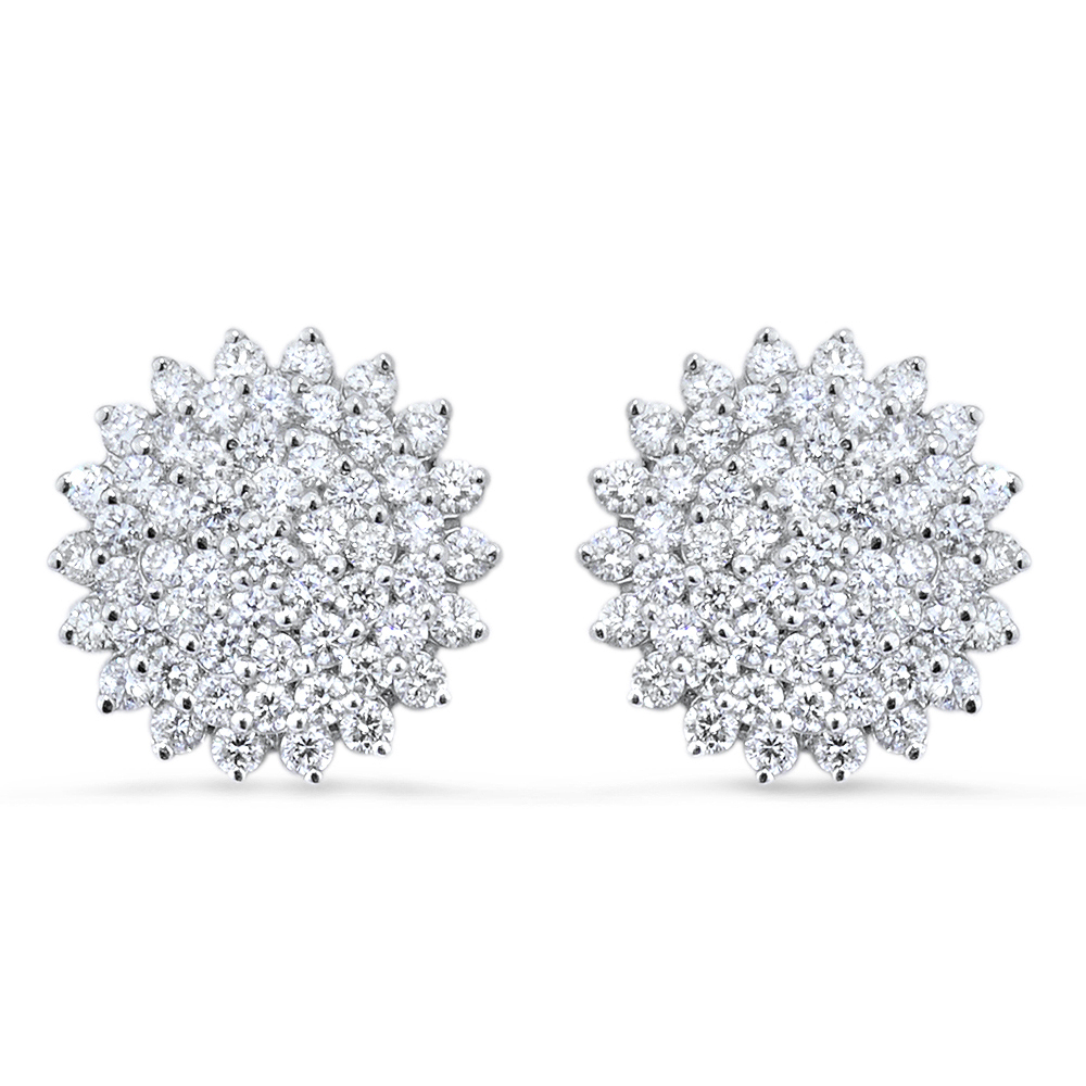 Blossom Diamond Earrings