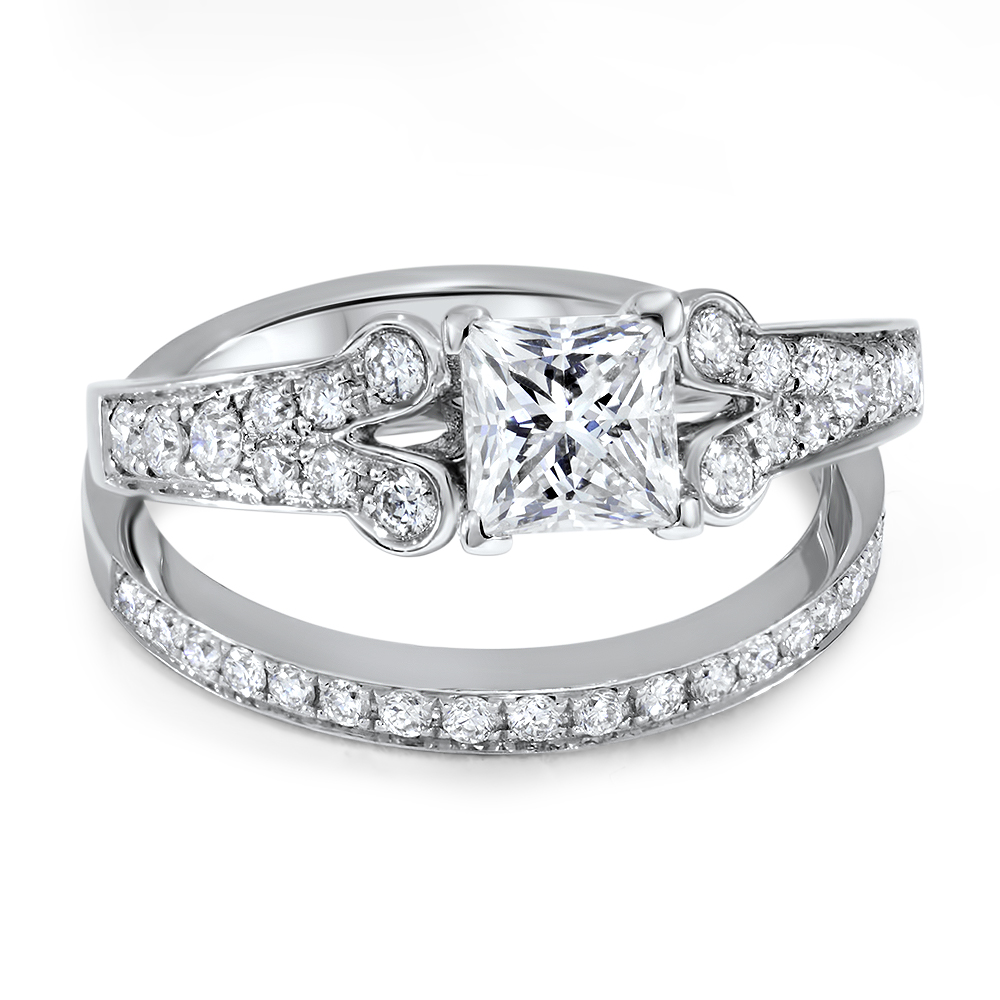 Elsa Diamond Engagement Ring