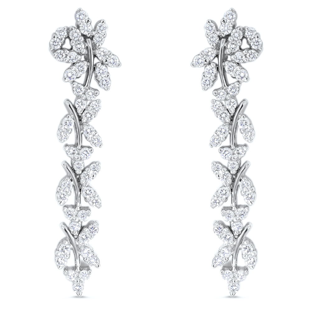 Eternity Diamond Earrings