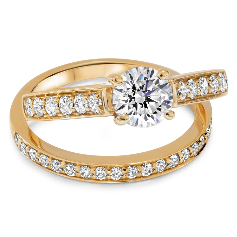 Kaia Gold Engagement Ring