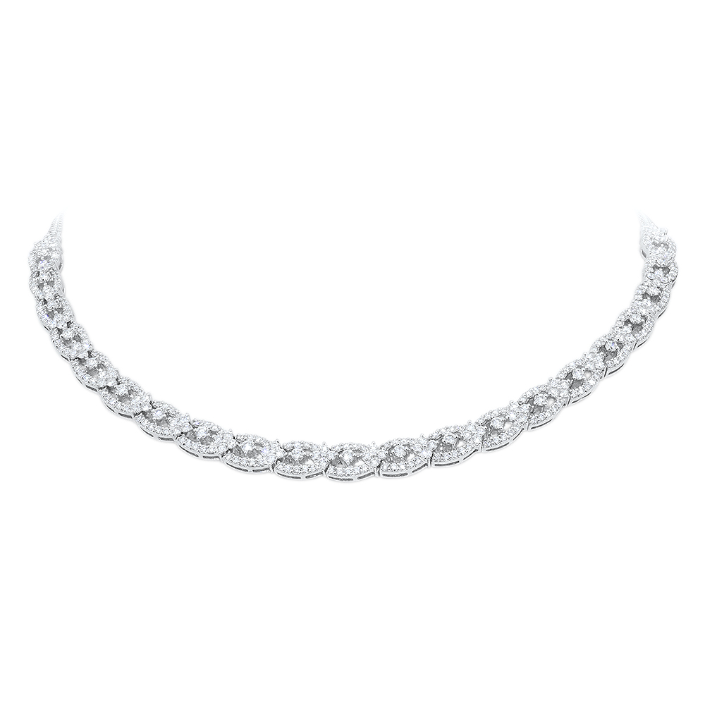 Links Diamond Necklace