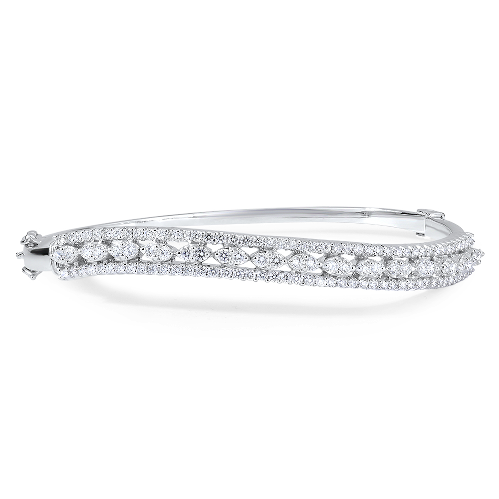 Oceanic Diamond Bangle