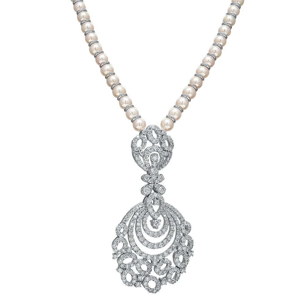 Ophelia Diamond Necklace Set