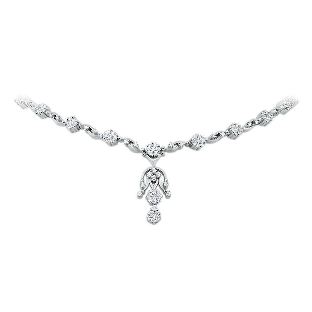 Princess Diamond Necklace