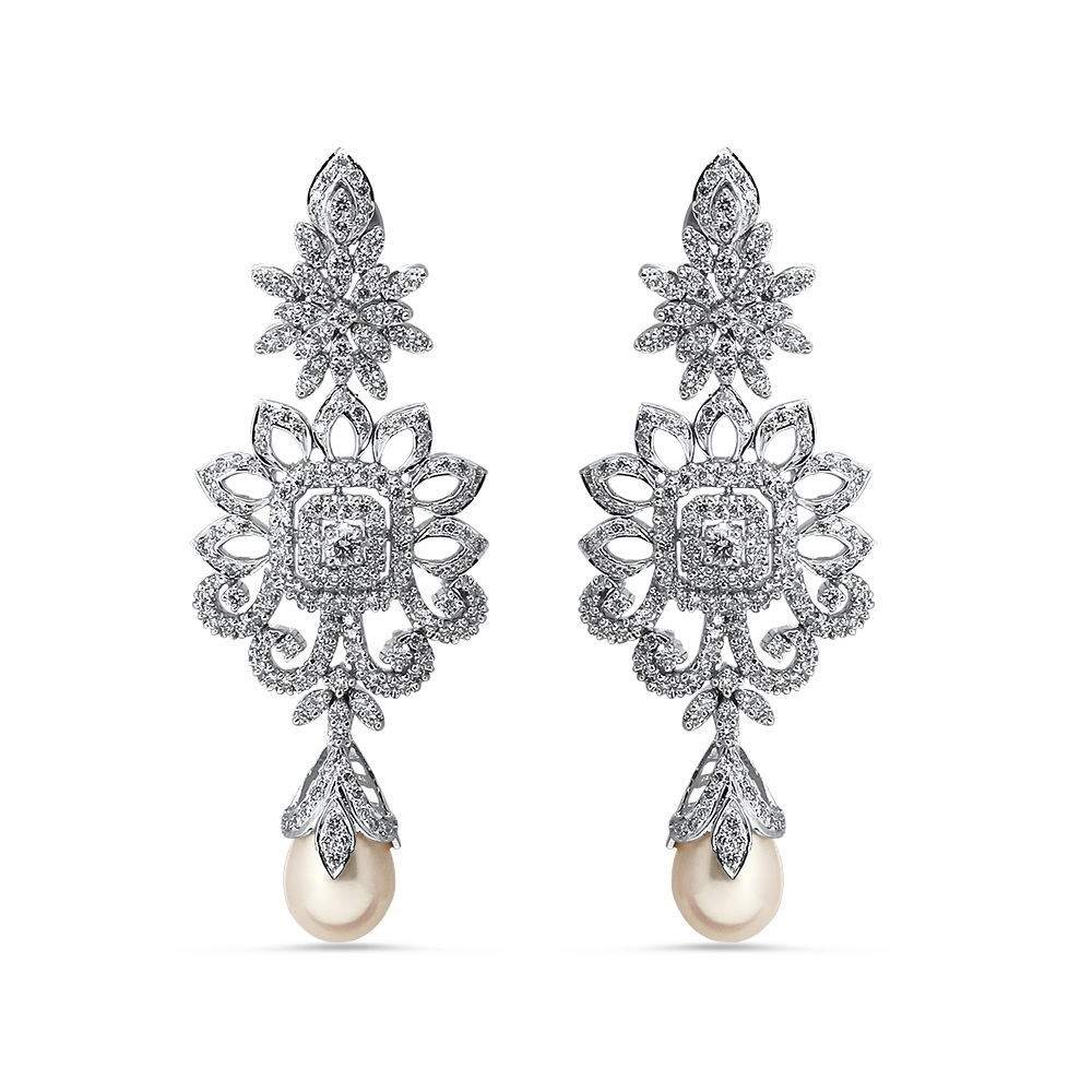 Regina Grand Diamond Earrings